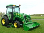 2008 John Deere 4720 w/ Cab,  400 CX Loader,  Iron Deck