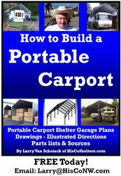 Build-Your-Own Portable Carport (EBook)