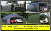 Portable Garage Shelter for Motorhome,  5th Wheel