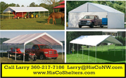 Weather- Shield and Shade Canopies!20' to 40' long