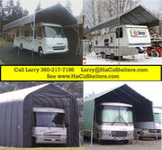 Portable Carport RV Shelter for less 25 to 30 long