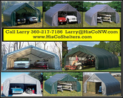 Shelter Logic Portable 2 Car Garage