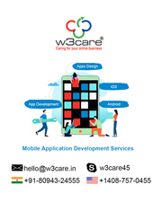 Mobile app development agency in USA W3care
