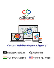 W3care Custom web and app design development company New York USA