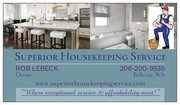 SUPERIOR HOUSEKEEPING SERVICE * 20% OFF DEEP CLEANINGS 'TIL 5-30-2020