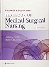 Textbook of Medical-Surgical Nursing