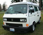 1989 Volkswagen BusVanagon Westfalia Camper
